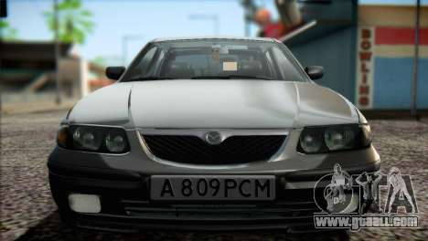 Mazda 626 for GTA San Andreas inner view