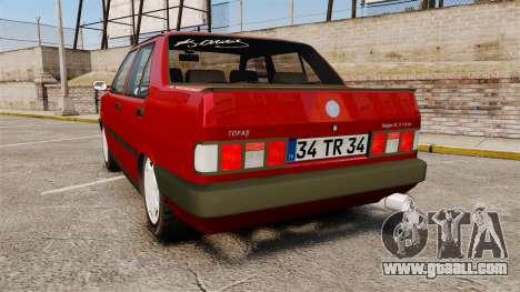 Tofas Dogan for GTA 4 back left view