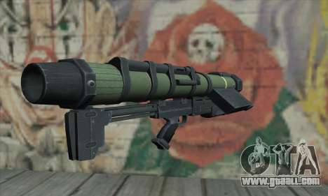 Missile launcher for GTA San Andreas second screenshot