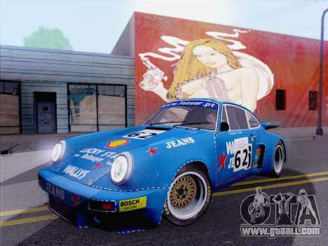 Porsche 911 RSR 3.3 skinpack 5 for GTA San Andreas