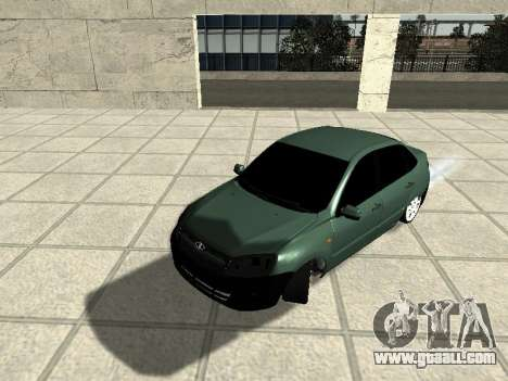 Lada Granta for GTA San Andreas left view