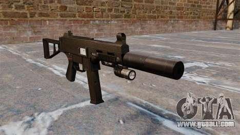 UMP45 submachine gun for GTA 4