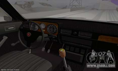 GAZ 3102 Volga for GTA San Andreas inner view
