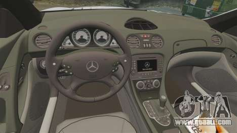 Mercedes-Benz SL65 AMG for GTA 4 inner view