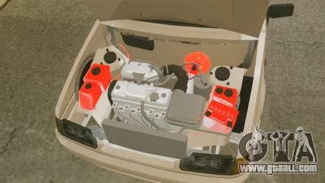 Vaz-2114 for GTA 4 upper view