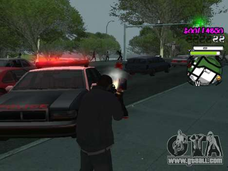 HUD for GTA San Andreas sixth screenshot