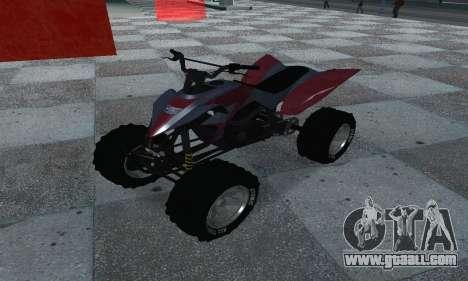 GTA 5 Blazer ATV for GTA San Andreas