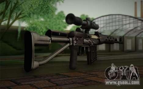 7.62 sniper rifle Dragunov SVD-s for GTA San Andreas second screenshot