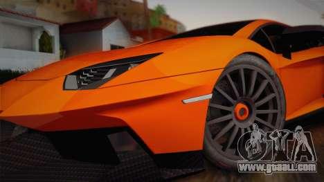 Lamborghini Aventador LP 700-4 RENM Tuning for GTA San Andreas back left view