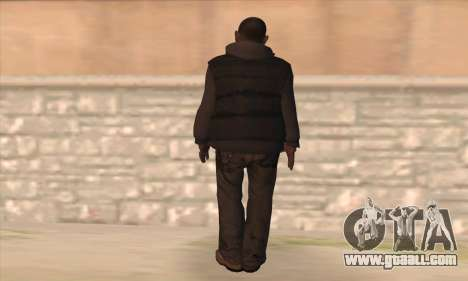 Clarence from GTA IV for GTA San Andreas second screenshot