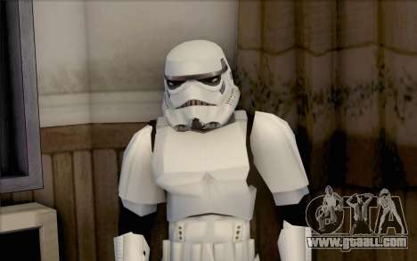 Stormtrooper from Star Wars for GTA San Andreas