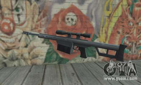 Sniper rifle from the Saints Row 2 for GTA San Andreas second screenshot