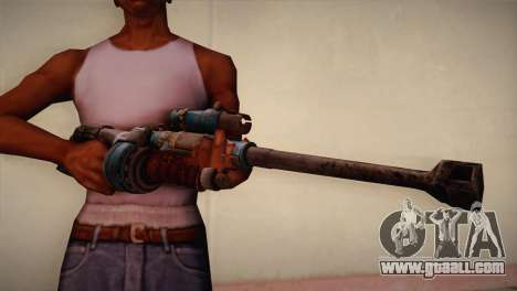 Sniper rifle from Bulletstorm for GTA San Andreas third screenshot