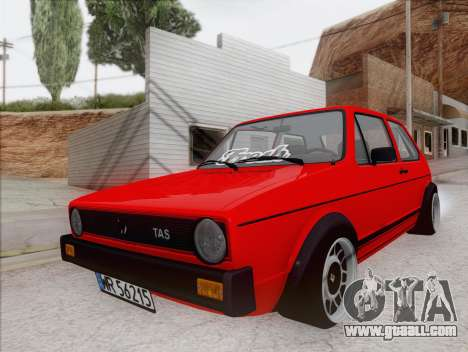 Volkswagen Golf GTI MK1 for GTA San Andreas