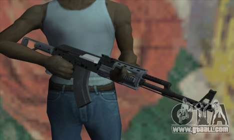The AK47 of GTA V for GTA San Andreas third screenshot