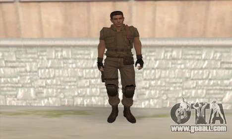 Chris Redfield v2 for GTA San Andreas