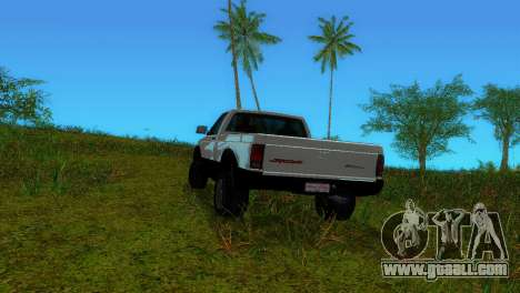 GMC Cyclone 1992 for GTA Vice City back view