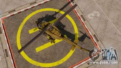 Bell UH-1 Iroquois v2.0 Gunship [EPM] for GTA 4 right view