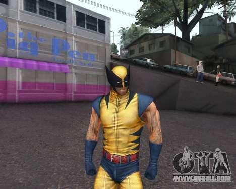 X-men Origins: Wolverine [Skins Pack] for GTA San Andreas seventh screenshot