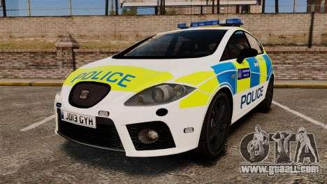 Seat Cupra Metropolitan Police [ELS] for GTA 4
