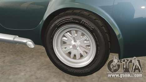 Shelby Cobra 427 SC 1965 for GTA 4 upper view