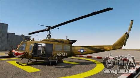 Bell UH-1 Iroquois v2.0 Gunship [EPM] for GTA 4 left view