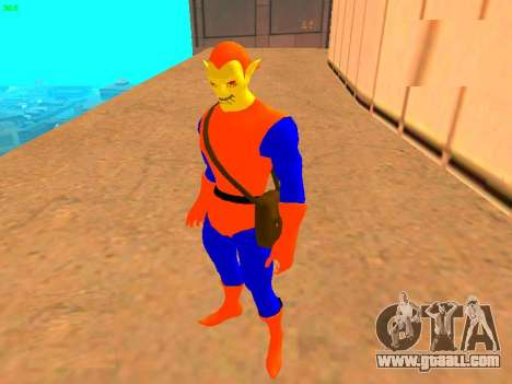 Hobgoblin of comics for GTA San Andreas second screenshot