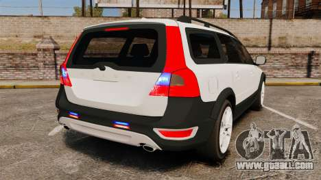 Volvo XC70 Unmarked [ELS] for GTA 4 back left view