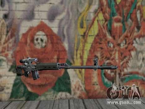 Sniper rifle of S.T.A.L.K.E.R. for GTA San Andreas