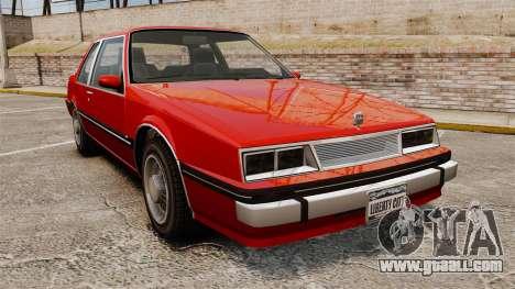 Willard Coupe for GTA 4