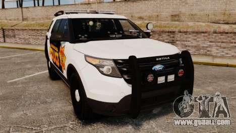 Ford Explorer 2013 Longwood Police [ELS] for GTA 4