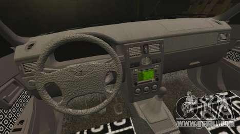 Vaz-2170 Lada Priora Turbo for GTA 4 upper view