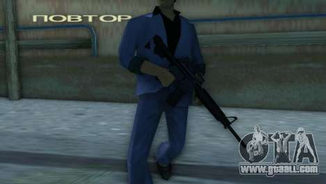 M4 from the XBOX version for GTA Vice City forth screenshot