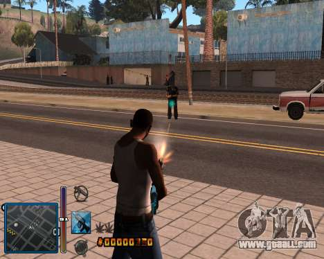 C-HUD by Mike Renaissance for GTA San Andreas second screenshot