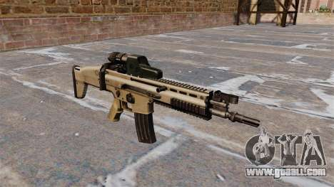 FN SCAR assault rifle for GTA 4