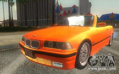 BMW 325i E36 Convertible 1996 for GTA San Andreas
