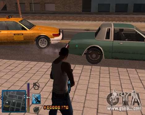 C-HUD by Mike Renaissance for GTA San Andreas fifth screenshot