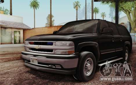 Chevrolet Suburban FBI for GTA San Andreas