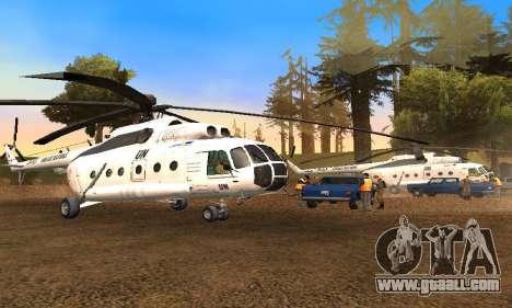 MI 8 UN (United Nations) for GTA San Andreas