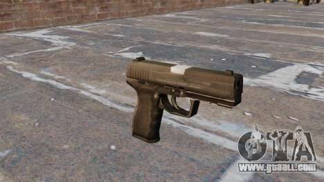 Semiautomatic pistol Taurus 24-7 for GTA 4