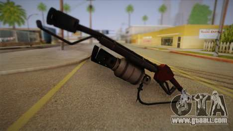 Flamethrower from Team Fortress for GTA San Andreas second screenshot