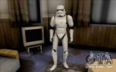 Stormtrooper from Star Wars for GTA San Andreas second screenshot