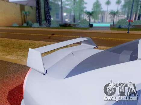 Mitsubishi Lancer Evolution VI LE for GTA San Andreas wheels