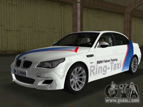 BMW M5 (E60) 2009 Nurburgring Ring Taxi for GTA Vice City