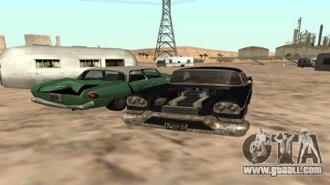 Tornado GTA 5 for GTA San Andreas back left view
