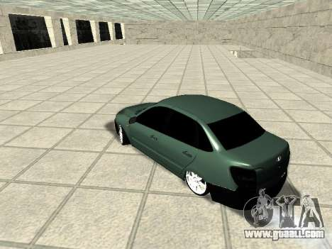 Lada Granta for GTA San Andreas back left view