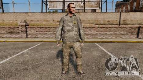Urban Camo suit for GTA 4