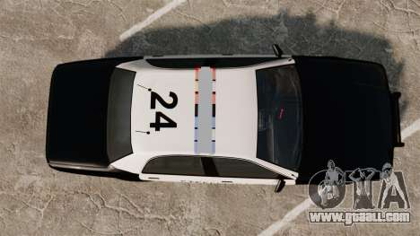 GTA V Vapid Steelport Police Cruiser [ELS] for GTA 4 right view