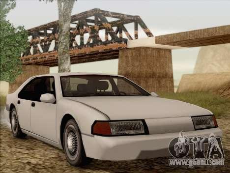 Fortune Sedan for GTA San Andreas