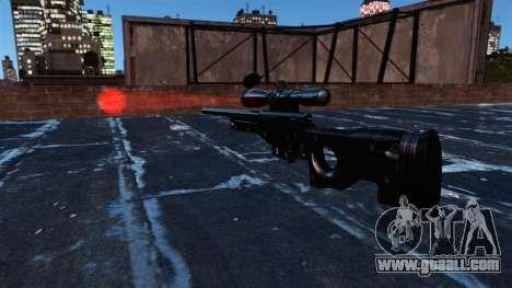 AI Arctic Warfare sniper rifle Magnum for GTA 4 third screenshot
